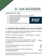 Tema 3. Los Glucidos (biomoléculas)
