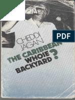 Cheddi Jagan the Caribbean Whose Backyard