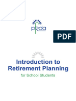 Retirement Planning for School Students