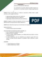 Ejercicio 11 y 12 Contabilidad Bancaria