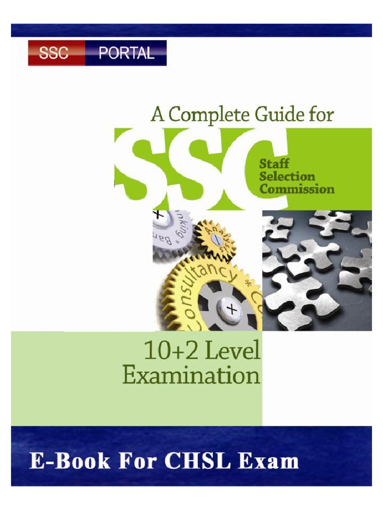 ssc chsle guide free guide www sscportal in pdf test assessment