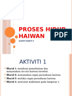 PROSES HIDUP HAIWAN
