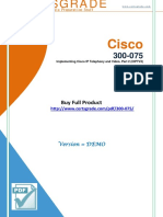 CertsGrade 300-075 PDF Brain Dumps