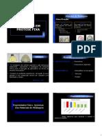 Moldagem, Confecção do modelo e Montagem em ASA Prótese Fixa II