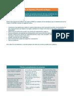 Proceso de Gestión de Seguridad y Prevención de Riesgos