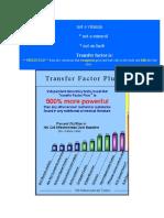 Tranfer Factor