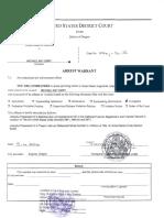USA Re MICHAEL EMRY - Arrest Warrant and Complaint