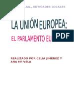 Presentación en Word del Parlamento Europeo y el Tribunal de Justicia de la Unión Europea