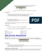 Reciprocal Pronoun