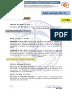 Boletín Informativo 006-2014