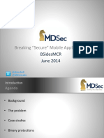 Breaking Secure Mobile Applications - BSides