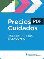 Precios Cuidados de mayo (Patagonia)