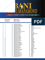 Indexul Colectiei Bani de Pe Mapamond