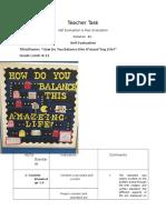 elem teacher task