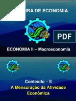 Transparências - Aula 05 - Macroeconomia