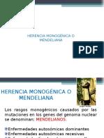herenciamonognicaomendeliana-140625205111-phpapp01