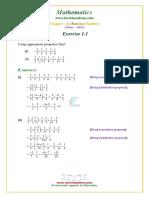 8 Maths NCERT Solutions Chapter 1 1