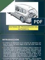 Sistema de Transmisión de Un Automovil