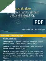 Recapitulare SQL ase
