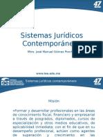 01 Temario y políticas del curso Sistemas Jurídicos Contemporáneos. JMGP(1)