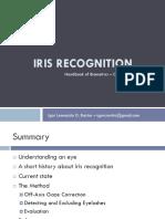 Apresentação - Iris Recognition