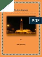 modern scholars