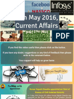 7 May 2016 Current Affair for Competition Exams