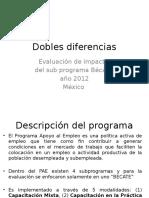 Dobles diferencias 2016
