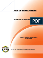 CEPD Issues in Education Education in Rural Areas (1)