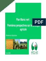 Plan_Maroc_Vert Enjeux Et Stratégie