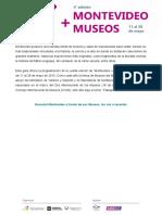 Programación Montevideo + museos