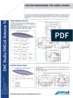 Application Note RCS Benchmark Simple Shapes