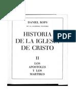 Daniel Rops. Historia de La Iglesia. T. 2