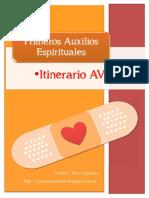 Itinerario AVIC en Los Primeros Auxilios Espirituales