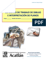 Cuaderno de Dibujo e Interpretacion de Planos - Acatlan