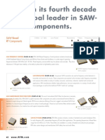 RFM SAW Component
