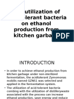 The Utilization of Acid-Tolerant Bacteria on Ethanol Production[1]