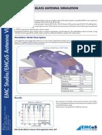 Application Note Automotive Glass Antenna Simulation
