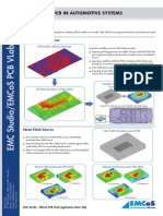 Application Note EMI EMC of PCB in Automotive Systems