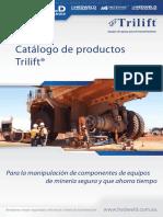 Catalogo Productos Trilift Manipulacion Componentes Maquinaria Pesada Mineria Mesas Trabajo