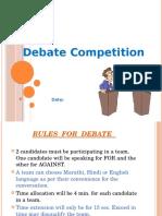 Debate 2014