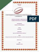 Monografia de Economia- Riesgo de mercado en las Micro-Financieras en el Perú, el periodo 2014-2015