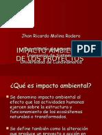 Impacto Ambiental de Un Proyecto