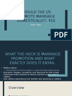 US Domestic Marriage Promotion