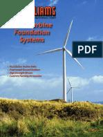 Wind Turbine Foundation Systems