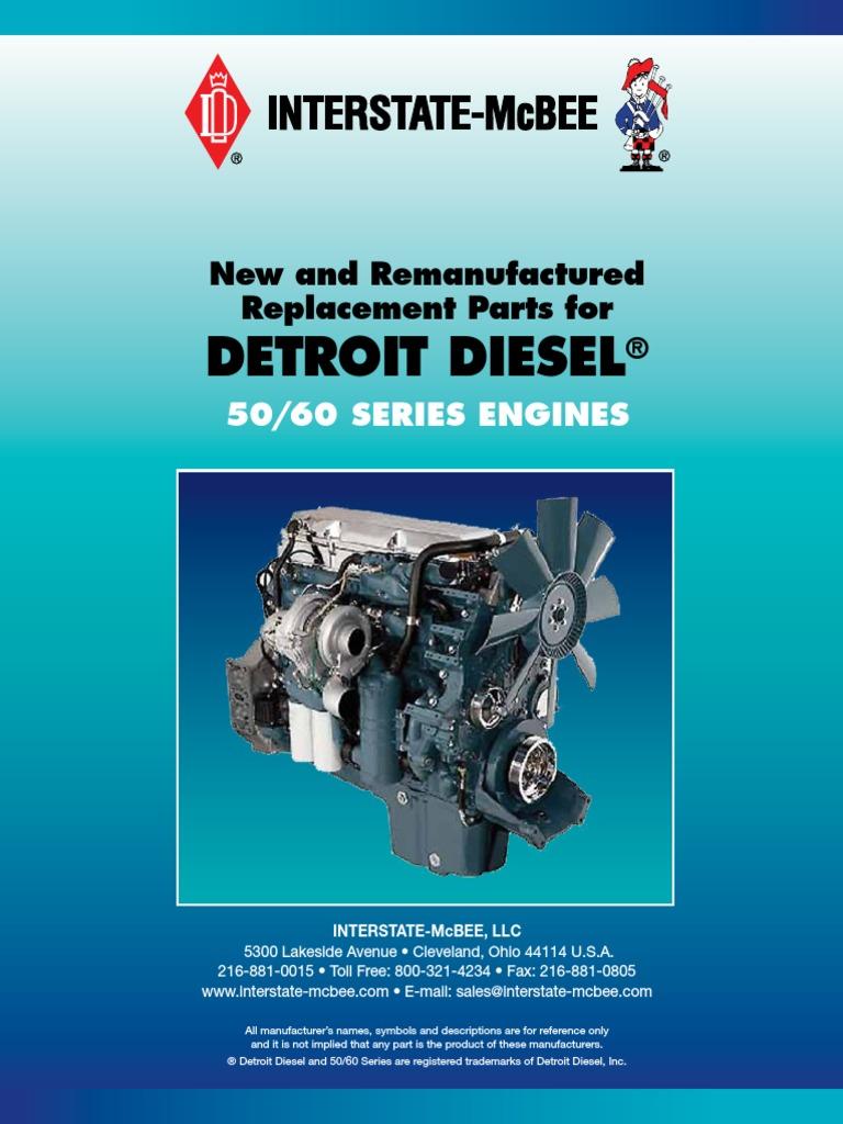 Detroit Diesel s60 Catalog | Turbocharger | Piston