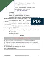 Orçamento Público-elaboração, Acompanhamento e Fiscalização.