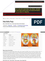 Andhrapradesh Templesinindiainfo Com Rahu Kethu Pooja
