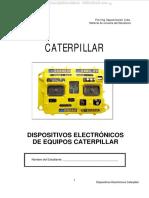 Manual Dispositivos Electronicos Caterpillar Identificacion Componentes Control Monitoreo Diagnostico Analisis Fallas