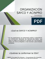 Organización Sayco y Acinpro